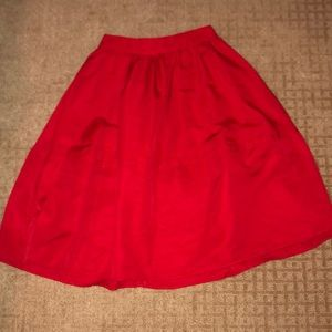 Express Midi Skirt. Worn once. Like New.